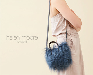 sale) [helenmoore] Shaggy Faux Shearling Micro Bag(3colors)